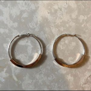 2.25 inch hoop earrings
